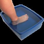 Maddak No Water Bath Device,14″L x 10″W x 5″H (36.6cm x 25.4cm x 12.7cm),Each,F796300000