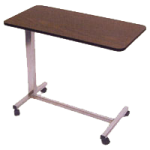 Rose Healthcare Overbed Tables,Tilt Top Overbed Table,Each,2012
