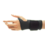 FLA Safe-T-Wrist Standard Duty Wrist Support,Small,Each,71-210SMBLK