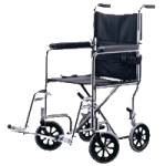 Medline Excel Transport Wheelchairs,17″ Wide,Each,MDS808150