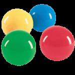 OPTP Balls For Body Work,Intermediate, Medium, 6.6″ (17cm), Assorted Colors,Each,LE9801