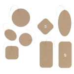 Uni-Patch Re-Ply Reusable Stimulating Electrodes,2″ (5.1cm), Round,4/Pack,EP84820