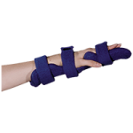 Comfy Adult Long Pan Hand Orthosis with Four Straps,With 1 Terrycloth Cover,Each,LPH-101