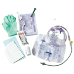 Medline Silvertouch Closed System Foley Catheter Tray,With 18FR Catheter, Without Meter,Each,DYND140218H