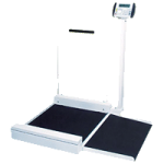 Detecto Digital Stationary Wheelchair Scale,Digital Stationary Scale,Each,6495