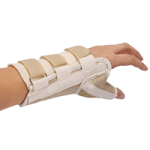 Core Left Wrist Splint with Thumb Spica,Small, Wrist Circumference 5-1/2″ to 6-1/2″,Each,WST-6825-L-SML