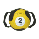 Ball Dynamics FitBALL MedBalls with Strap,Yellow, 2lb 7.75″,Each,FBMEDST2