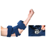 Comfy Spring Loaded Goniometer Elbow Orthosis,Pediatric, Small, with 1 Terrycloth Cover,Each,PSGE-101-S