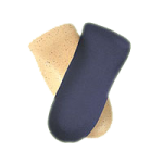FLA Soft Point Flexible Cork Orthotics,Medium,Pair,F641