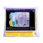 Medline Silicone Elastomer Coated Latex Erase Cauti Foley Catheter Tray With Meter,With 16FR Catheter,10/Case,DYND160216