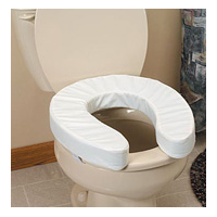 The Comfort Company Premier Comfort Toilet Seat Riser Cushion 4 10cm Tall