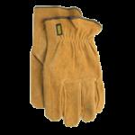 Medline Stanley Suede Leather Gloves,Medium,12Pair/Pack, 6Pack/Case,HKP5127M