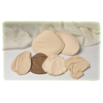 Nearly Me D Cup Classic Comfort Covers,Size 38, Right, Beige,Each,17-889-38