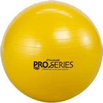 Thera-Band PRO Series SCP Exercise Balls,22″ (55cm), Red,Each,23025