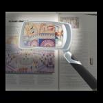 Folding 3X Magnifier,2″ x 3″,Each,565844