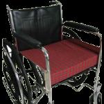Rose Healthcare Wheelchair Cushion,Fancy, Plaid or Navy, 16″ x 18″ x 3″,Each,4014