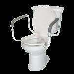 Drive Toilet Safety Rail,White,2/Case,RTL12087