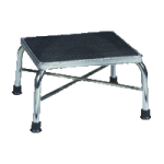 Drive Heavy Duty Bariatric Footstool with Non Skid Rubber Platform,With Handrail,Each,13062-1SV