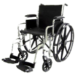 ITA-MED 20 Inch Premium Wheelchair,20″ Wheelchair,Each,W20-300