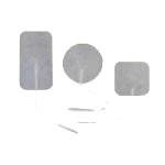 Metron Cloth Electrodes,2″, Round,80/Pack,56658180