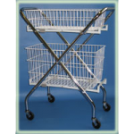 Brandt Folding Utility Cart,35″H x 9-1/2″W x 29-3/4″D,Each,30300