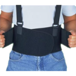 ITA-MED Deluxe Lumbo-Sacral Work Belt,Small,Each,IBS-3000