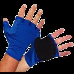 Rolyan Workhard Fingerless Insert Glove,Medium, Left, MCP Circumference: 7-1/2″ to 8″,Each,A992141