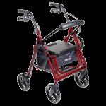 Drive Duet Transport Chair and Rollator,Black,Each,795BK
