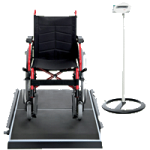 Seca Electronic Platform Scale For Gurneys And Stretchers With Innovative Memory Function,35.2″W x 3.4″H x 65.2″D,Each,SECA656