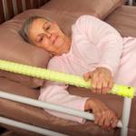 Clarke Safety Glo Bedside Hand Rail,Bedside Handrail,Each,HSG450