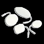 Mettler Economical V Trode Self-Adhesive Reusable Electrodes,2″, Round,4/Pack, 10Pk/Case,2702