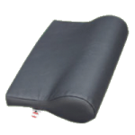 Core AB Contour Vinyl Pillow,Blue,Each,FOM-110-BL