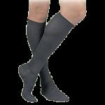 FLA Activa Sheer Therapy Men 15-20mmHg Dress Socks,Navy, Small,Pair,H2541