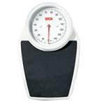 Seca 762 Personal Mechanical Flat Scale with Large Round Dial,Lb/Kg,Each,SECA762