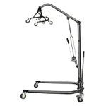 Medline Hydraulic Bariatric Patient Lift,Manual Hydraulic Lift,Each,MDS88200D