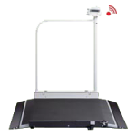 Seca Electronic Wheelchair Scale With Handrail And Transport Castors,36.2″W x 44.1″H x 45.3″D (920mm x 1120mm x 1150mm),Each,SECA676
