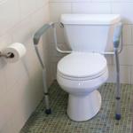 Homecraft Toilet Safety Frame,20″W x 17-1/2″D x 27″H,Each,81561901