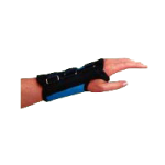 Rolyan Teal D-Ring Wrist Braces,Right, X-Large,Each,A60810