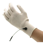 BioBioKnit Conductive Fabric Glove,X-Large, Fits up to 10.5″ Circumference At Hand Above The Knuckles,Each1,GAR113