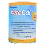 Nutricia KetoCal 3:1 Pediatric Nutritionally Complete Powdered Food,11oz (300gm), Can,6/Case,16672