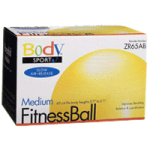 BodySport Slow Air Release Fitness Balls,75cm, Red,Each,ZR75AB
