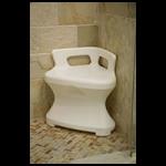 Maddak Corner Shower Seat,Shower Seat,Each,F727120000