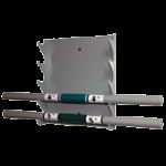 Ideal Wall Mount Weight Bar Storage Rack,14″W x 3″D x 17″H,Each,27300M