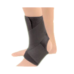 FLA EZ-ON Wrap Around Ankle Support,Large, 12-1/2″ to 14-1/2″,Each,40-550LGBLK