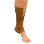 AT Surgical VELCRO® Closure Unisex Anklet,Medium, 9″ to 10″, White,Each,38V