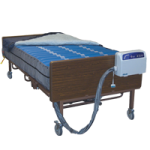 Drive Med-Aire Plus Bariatric Alternating Pressure Mattress Replacement System,42″W x 80″L x 10″H,Each,14030