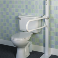 2352015196Homecraft-Devon-Floor-Mounted-Folding-Toilet-Support-Rail