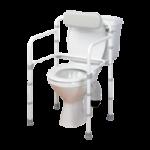 Homecraft Uni-Frame Folding Toilet Rail,19.5″W x 16.5″D,Each,557475