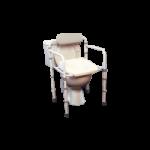 Homecraft Uni-Frame Folding Toilet Safety Frame,Toilet Rail,Each,557481