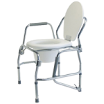 Graham-Field Collection Steel Drop Arm Three-In-One Commode,Commode,2/Case,6433A-2